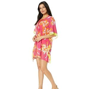 Echo Swim - Echo Lily Silky Butterfly Beach Cover-Up NWT